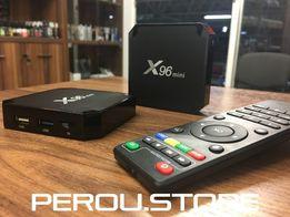 Смарт Тв Приставка TV Box X96 mini 2GB/16GB ANDROID 7.1. Оригинал