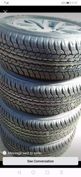 265/60 /18 ×4 Dunlop ALL TRAIN TYRES