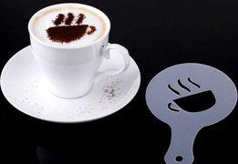 Трафареты, шаблоны для кофе, капучино в бары, для праздника, романтика