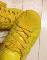 Кроссовки adidas superstar yellow
