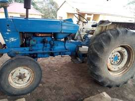 Ford 5610 and Four Row Planter