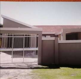 Fully furnished Town house available