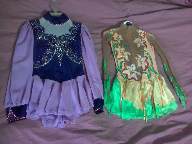 платья для фигурное катание