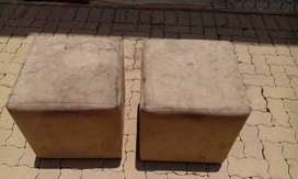 Beige Ottomans For Sale
