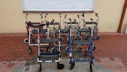 Chodzik balkonik 4-kołowy wózek rehabilitacyjny Szczecin duży wybór