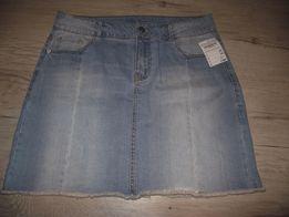 nowa spódnica jeans 40 42