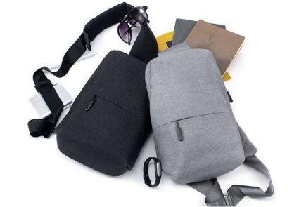 Рюкзак Xiaomi Mi City Sling Bag Light Grey Кропивницкий - изображение 2