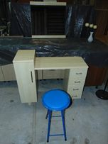 Toaletka+lustro+krzesło jak nowa