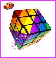 Радужный зеркальный кубик Рубика. Новинка от компании MoYu.