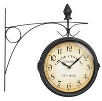 Двусторонние настенные часы