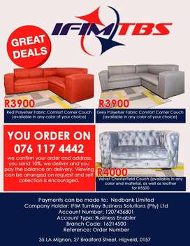Couches and home furniture for sale