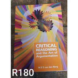 Unisa textbook: Critical reasoning and the art of argumentation