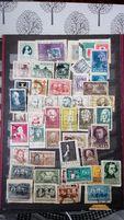 Klaser Album ze znaczkami różne strony świata