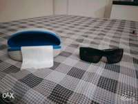 """Image of Oakley Batwolf sunglasses with Diesel case """"barely used"""""""