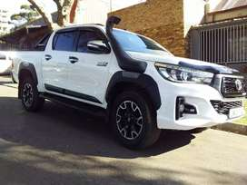 Used Toyota hilux 2.8 GD-6 double cab raider for sale