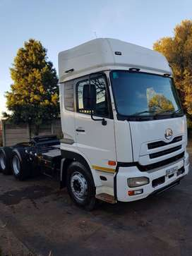 2012 UD460 High Roof 6x4 Truck Tractor!