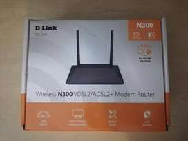 D-Link N300 Router and Modem