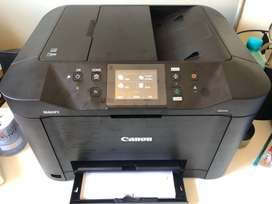 New 4 in 1 Canon MAXIFY printer, scan,  copy and fax with ink