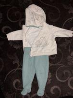Bluza spodnie komplet roz 68 H&M jak nowe
