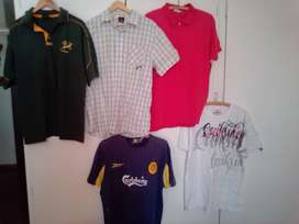 Mens used  sports shirts size L