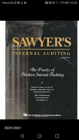 Sawyer's Internal Auditing: The Practice of Modern Auditing 5th Ed