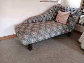 Upholstered Chaise.