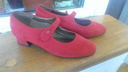 Туфли красные M&S