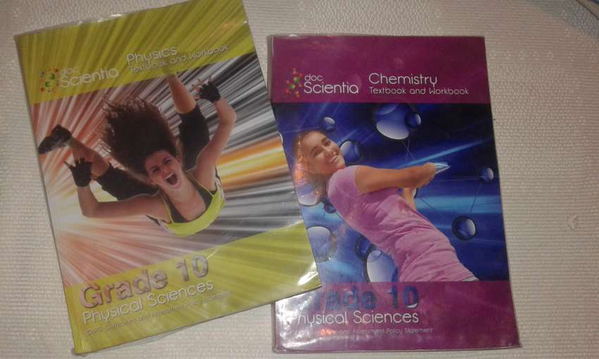 Grade 10 English Phyics and Chemistry Books 0