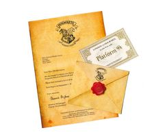 Письмо из Хогвартса по мотивам Гарри Поттера