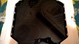 Płyta ceramiczna (elektryczna) AEG 65300kf-an uszkodzona na części