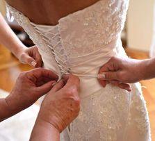 suknia ślubna ANNAIS BRIDAL GEMMA 34-36 ECRU kremowa