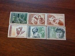 Почтовые марки МИКЕЛАНДЖЕЛО.