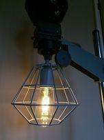Lampa loft industrialna prl retro vintage rustykalna stara przemysłowa