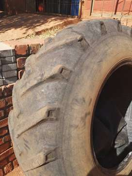 2 x REAR TRACTOR TYRES FOR SALE