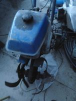 "культиватор на бензиновом двигателе с насадкой типа ""КРОТ"""