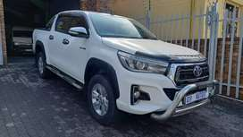 2017 Toyota Hilux 2.8 GD-6 4x4 Double  Cab Raider Automatic  for sale.
