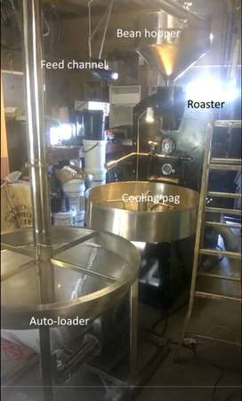 Coffee Roaster 20Kg Batch with Auto-feeder