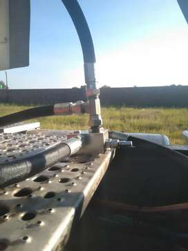 FUEL TANKER PTO AND HYDRAULIC SYSTEM INSTALLATION