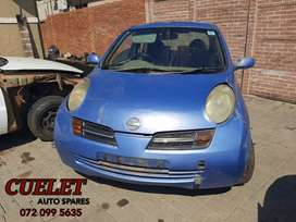 Nissan Micra 2005 stripping for parts