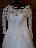 Свадебное платье + круги к нему