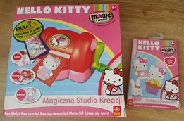 Trefl, Magic Fabric Hello Kitty, studio kreacji + dod. zestaw, nowe