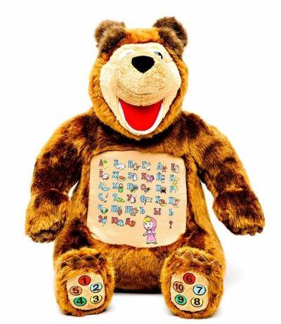 """Развивающая интерактивная мягкая игрушка """"Маша и медведь"""" Сумы - изображение 4"""