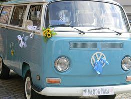 Volkswagen VW Ogórek T2 do ślubu, ślub, Bydgoszcz