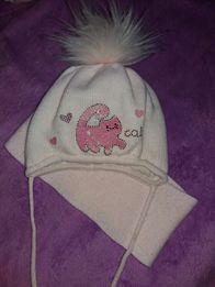 шапка шарф комплект зимний