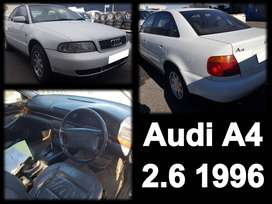 Audi A4 2.6, 1996 spares for sale.
