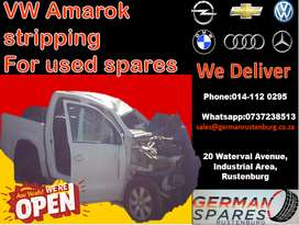 VW Amarok stripping for used spares