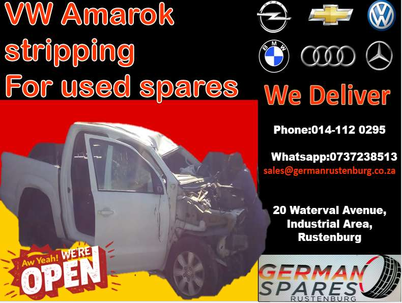 VW Amarok stripping for used spares 0