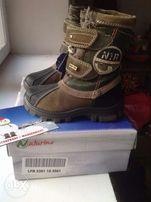 Продам детские зимние ботиночки Naturino