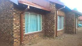 Two Bedroom house to rent in Unit 10