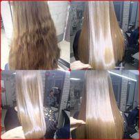 Приглашаем модель на кератиновое выпрямление волос!!!